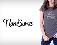 NumBums Logo and T-shirt Design