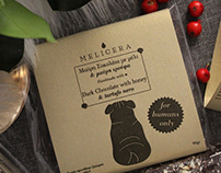 Packaging - dark chocolate with honey and tartufo nero