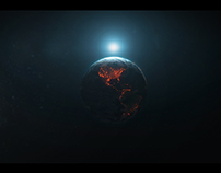 Earth Lights Reveal | Videohive Template