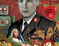 collage for the Salvation Army magazine, War Cry