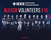 AlexSB 2018 Volunteers' Video