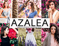 Free Azalea Mobile & Desktop Lightroom Preset