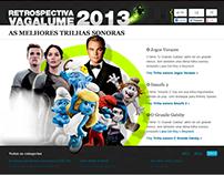 Retrospectiva Vagalume 2013 - Hotsite