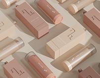 NU. - Makeup Branding & Packaging