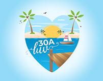 30A LUV Logo