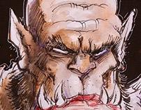 Orgrim Doomhammer sketch