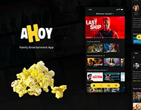 Ahoy - Movie Streaming App