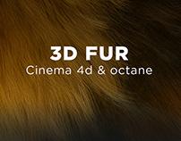 3D fur C4D & octane