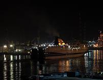 sul traghetto verso la Sardegna
