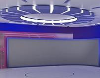 News Set For Hologram (Virtual)