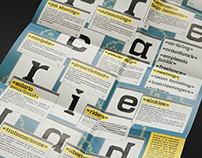 'NEOPRECARIEDAD' | Concept Leaflet-Poster