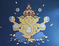 AYR Ganesh Mural
