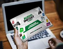 Catálogo Audio Import