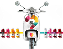 vitaminwater Vespa Online Promotion