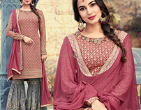 Latest Different Style's Salwar Kameez By DNU