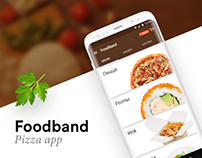Foodband — pizza app