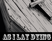 Inktober- As I lay dying