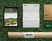 R&R Lawns Identity and Website