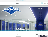Rebuild of Website- BggsAir.com