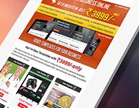 web design company newsletter design