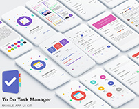 To Do Task Manager App UI Kit