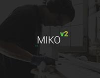 Miko - Agency PSD Template v2