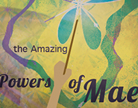 The Amazing Powers of Mae-book Illustration Cover