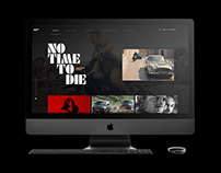 No Time to Die Microsite
