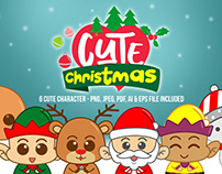 Cute Christmas Graphic Illustration