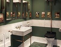 British style bathroom
