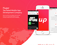 Top Rated Mobile App Company- Fluper Ltd