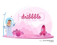 Helo Dribbble