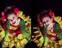 Mantones Flamencos- Pequeñas Flamenquitas (2015)