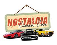 Nostalgia Classic Cars - Event Concept
