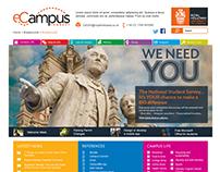 eCampus Connect Website Design
