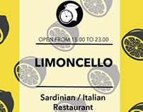Limoncello Restaurant Leaflet