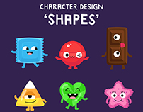 Character Design - Shapes