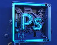 Adobe Photoshop Neo-Cube