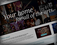 Big Arts Home Page Design