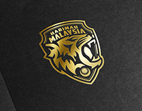 Harimau Malaysia Logo Design