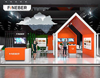 FINEBER stand at the MosBuild 2018
