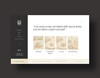 Website UX/UI design for Baretto di San Vigilio