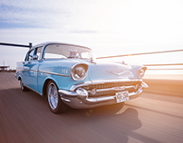 1957 Chevy Bel Air - American Car Magazine