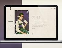 """Web concept """"CULT"""""""