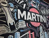 Martini Chalkboard