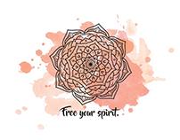 MANDALA - Free your spirit