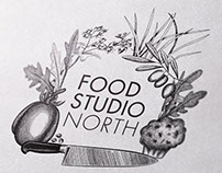 Food Studio North Branding