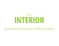 Interior Graphics | Maris Suites, Ambrosia Restaurant