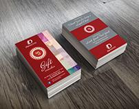Business & Gift Card Vouchers