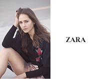 Mock Up Fashion Advertisement for Zara